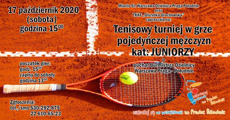 2020-10-17 JUNIORZY mazowieckie deblowe grand prix